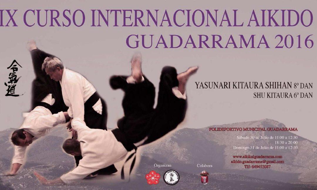 Curso Aikido – Guadarrama Julio 2016